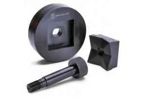 МПО-125х125:  Перфоформа для пробивки квадратных отверстий в стальном листе, 85312