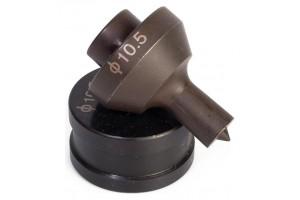 МПШО-6*10/110:  Матрица для пробивки отверстий 6.5х10 мм в шинах, 85333