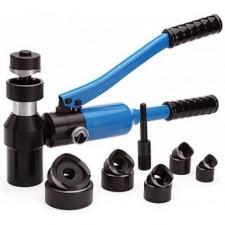 Инструмент КВТ для резки DIN-реек и пробивки отверстий
