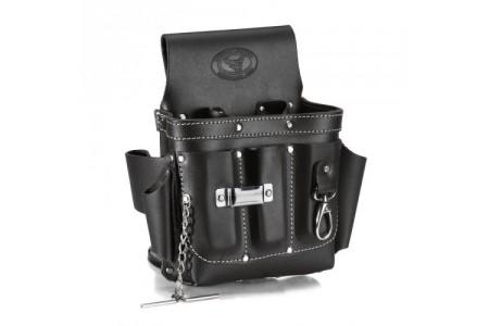 Скоро в продаже сумка поясная кожаная КВТ СК-9, премиум-серии «DEAD BULL»